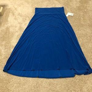 LuLaroe 2XL Maxi Skirt